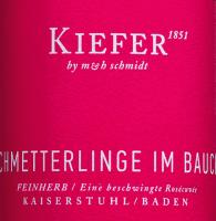 Voorvertoning: Schmetterlinge im Bauch Wein Kiefer Etikett