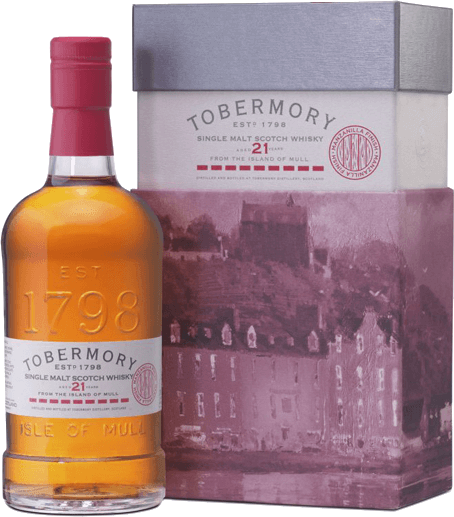 21 Years Single Malt Scotch Whisky Manzanilla Finish - Tobermory