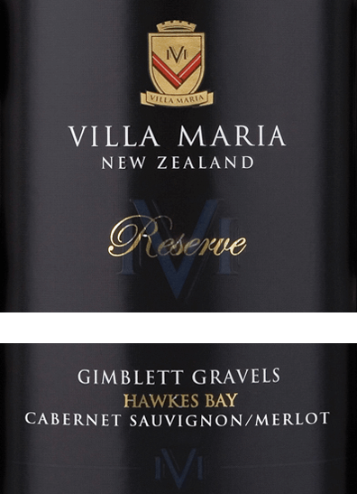 The Cabernet Sauvignon Merlot Reserve from Villa Maria is a concentrated, pure grape red wine from the New Zealand wine-growing region of Hawke's Bay in the Gimblett Gravels vineyard. In the glass this wine shimmers in a deep dark carmine red with ruby highlights. The warm spicy bouquet is carried by elegant aromas of Creme de Cassis, juicy cherries, fine bitter chocolate and freshly ground coffee beans - underlaid by finest hints of dried mint and graphite. On the palate, this New Zealand red wine reflects the fruity, spicy notes of the nose. The silky tannins are perfectly woven into the excellent structure and give this wine its complex character. The long finish with fine nuances of dark chocolate rounds off this red wine perfectly. Vinification of Villa Maria Reserve Cabernet Merlot The Cabernet Sauvignon and Merlot grapes for this red wine are harvested in April in the vineyards of Gimblett Gravels. Arrived in the cellar of Villa Maria, the grapes are completely destemmed, ground and fermented in open fermenters for 4 to 5 weeks on the mash. The cap is regularly pressed down by hand during the fermentation process. This wine is then aged for 18 months in French and American oak barrels, 46% of which are new wood. Food recommendation for the Reserve Villa Maria Merlot Cabernet Sauvignon Enjoy this dry red wine from New Zealand with tender roast beef with beans in a bacon coat, game ragout with homemade spaetzle, ratatouille or with medium spicy cheeses such as Guyere, Comté or Cantal.