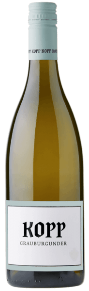 De Pinot Gris van het wijnhuis Kopp schittert in het glas in een intens geel en inspireert met zijn fijne kruidige aroma's. Deze witte wijn uit Baden toont zich in de mond met een aangename zuurgraad en gaat animerend en sappig in zijn lange afdronk. Spijs aanbeveling voor de Kopp Pinot Gris Geniet van deze droge witte wijn bij geroosterde vis, kalfsvlees, konijn of gerechten met paddestoelen.