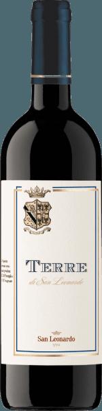 Deze prachtige wijnachtige compositie van 50% Cabernet Sauvignon, 40% Merlot en 10% Carmenere rijpte in barrique en presenteert zich met rijk fruit. De Cuvée Terre di San Leonardo van de Tenuta San Leonardo overtuigt met een evenwichtige smaak en een verfijnde delicaat bittere afdronk met aromatische lengte, die de Bordeaux-stijl van deze rode wijn onderstreept. 80% van de Cuvee rijpte 80 maanden in grote vaten, de overige 20% in barrique. Prijzen van deTerre di San Leonardo IGT Trentino 2013 van de Tenuta San Leonardo Doctor Wine: 90 pts (jrg. 12)Bibenda: 4 druiven (wijnjaren 2006 - 2012)Guida dell' Espresso: 17/20 pts (jaargangen 10 en 11), 18,5/20 pts (jaargangen 10)Gambero Rosso: 2 glazen (wijnjaren 2012 - 2006)