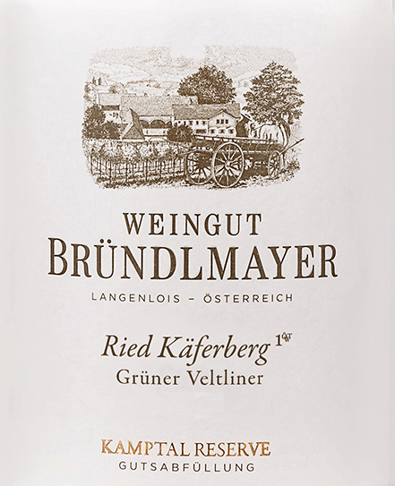 Grüner Veltliner Käferberg 2018 - Bründlmayer von Weingut Bründlmayer