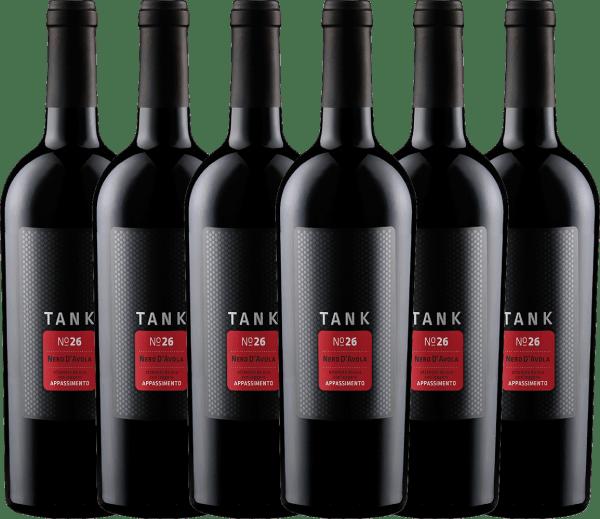 6er Vorteils-Weinpaket - TANK No 26 Nero d'Avola Appassimento IGT 2020 - Cantine Minini