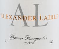 Voorvertoning: Grauburgunder SC trocken 2020 - Alexander Laible