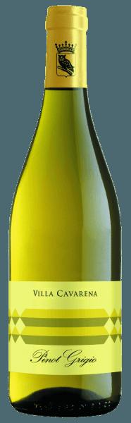 In het wijnglas schittert deVilla Cavarena Pinot Grigio van Allegrini in een rijk strogeel. Het bouquet wordt gedragen door druivensoort-typische groene tonen en fijne hints van acaciabloesem. Met zijn droge en frisse karakter overtuigt de witte wijn ook het gehemelte en blijft hij in het geheugen hangen met zijn kenmerkende, volle kruidigheid. Spijs aanbeveling voor de Allegrini Pinot Grigio Villa Cavarena DeVilla Cavarena Pinot Grigio van Allegrini is een waar genot bij gegrilde visgerechten en zeevruchten. Het is ook een perfecte begeleider van een fruitsalade met exotische vruchten.
