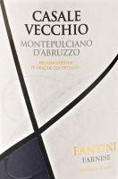 Voorvertoning: Casale Vecchio Montepulciano d'Abruzzo DOC 2017 - Farnese Vini