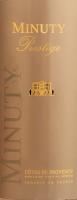 Preview: Prestige Rouge 2018 - Château Minuty