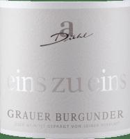 Voorvertoning: Grauer Burgunder eins zu eins Kabinett trocken 2020 - A. Diehl