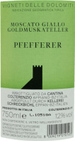 Voorvertoning: Pfefferer Vigneti delle Dolomiti IGT 2020 - Kellerei Schreckbichl