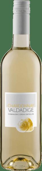 De Chardonnay Valdadige DOC van Cantina Valdadige presenteert zich met een intens strogele en groenige reflecties in het glas en betovert met zijn delicaat geurende bouquet, dat de heerlijke aroma's van appels en perziken uitstraalt. Deze Chardonnay uit Trentino is een verfrissende en lichte wijn, die het gehemelte aanspreekt met zijn ongecompliceerde en aangename karakter. Aanbevolen voedsel voor de Chardonnay Valdadige DOC van Cantina Valdadige Geniet van deze droge witte wijn als aperitief, bij voorgerechten en tapas, pasta met lichte sauzen, gevogelte en kalfsvlees of bij kaas. Prijzen voor de Chardonnay Valdadige DOC van Cantina Valdadige Berlijn Winetrophy: Goud (Vintage 2013) Mundus Vini: Zilver (Vintage 2013)