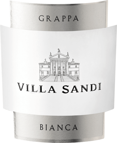 The white, classic Grappa Bianca Superiore from Villa Sandi is crystal clear in the glass. Very fine on the nose, yet intense and pleasant, it delights with an elegant aroma. In the mouth it unfolds its soft, harmonious, elegant and round taste. It was bottled in a beautiful and individualized Bordeaux bottle with Villa Sandi relief.