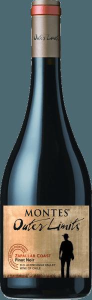 De Montes Outer Limits Pinot Noir is een heerlijk fruitige, single-vineyard rode wijn uit het Chileense wijnbouwgebied Valle del Aconcagua. In het glas straalt deze wijn eenhelder granaatrood met kersenrode accenten.Het frisse, geconcentreerde bouquet verrast met fijnste aroma's van sappige aardbeien in combinatie met zoet gerijpte frambozen en gekonfijte kersen. De aroma's in de neus gaan vergezeld van discrete minerale hints en wat bessenjam. Ook in de mond toont deze Chileense rode wijn een heerlijk fruitig karakter - rode, rijpe bessenvruchten domineren met zoete kersen. De textuur presenteert zich zeer zijdeachtig en gaat vergezeld van fijnkorrelige tannines. Het frisse fruitzuur en de minerale tonen ronden deze rode wijn perfect af en begeleiden hem tot in de aangenaam lange afdronk. Vinificatie van de Outer Limits Pinot Noir Montes De wijnstokken groeien op matig waterdoorlatende bodems van graniet en kleileem. De Zapallar wijngaard ligt in de koele klimaatregio Aconcagua, waar de druiven goed gedijen op een 45 hectare grote wijngaard. De Pinot Noir druiven worden zorgvuldig met de hand geplukt, gekneusd en op traditionele wijze vergist in roestvrijstalen tanks. Na de gisting wordt 40% van deze wijn gedurende 12 maanden in Franse eiken vaten gerijpt. De overige 60% rust in roestvrijstalen tanks. Spijs aanbeveling voor de Montes Pinot Noir Outer Limits Geniet van deze droge rode wijn uit Chili bij gestoofd rundvlees met worteltjes of diverse pastagerechten met pittige saus. Onderscheidingen voor de Pinot Noir Montes Outer Limits Robert M. Parker - Wine Advocate: 90 punten voor 2015