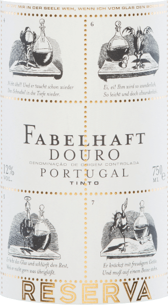 The Fabelhaft Reserva Tinto from Niepoort shines in a vivid, concentrated ruby red colour in the glass. The nose is mineral and fresh, with floral notes surrounded by wild berries. Its extremely seductive fragrance profile skilfully combines the subtle hints of wood with the fruit. This Portuguese red wine elegantly caresses the palate and reveals its beautiful volume. The wonderfully balanced mouthfeel combines notes of fresh spices and fresh fruit with acidity and delicate tannins. An enormously long, filigree and complex finish completes the pleasure. Vinification of the Fabelhaft Reserva After careful selection of the grapes from the Niepoort winery, fermentation takes place in stainless steel tanks with a maceration period of up to 20 days. The biological degradation of acidity takes place in French oak barriques, where the wine then matures for 15 months. Recommended food for the Niepoort Fabelhaft Reserva Tinto We recommend this delicious red wine cuvée from Portugal with fried vegetables, mushrooms, pasta and fried meat (pork, beef, lamb).