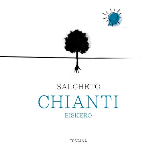 DeChianti van Salcheto is een elegante klassieke rode wijn gemaakt van de druivensoortenSangiovese 85%, Canaiolo (8%) en Mammolo (7%). In het glas schittert deze wijn met een schitterende robijnrode kleur. Tonen van bramen, rijpe hartkersen, versgemalen peper en een subtiel vleugje vanille strelen de neus. In de mond betovert deze wijn met een prachtige structuur, fijne tannine en tonen van rijp bessenfruit. De afdronk overtuigt met een aangename lengte en fijn-kruidige, vanille hints. Vinificatie van de Biskero Chianti Salcheto De druiven voor deze Italiaanse rode wijn komen uit Chiusi van de wijngaard Poggio Piglia en uit Abbadia van Torrita di Siena. Na de zorgvuldige oogst worden de druiven onmiddellijk naar Salcheto's wijnmakerij gebracht en vergist in roestvrijstalen tanks. Vervolgens wordt 30% van deze wijn gedurende 4 maanden in tonneaux gerijpt. De resterende 70% rust in roestvrijstalen tanks. Ten slotte rijpt deze wijn 3 maanden in de fles. Aanbevolen voedsel voor de SalchetoChianti Geniet van deze droge rode wijn uit Italië bij de Italiaanse keuken - van antipasti tot klassieke pizzavariaties en pittige pastagerechten.