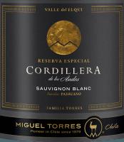 Voorvertoning: Cordillera Sauvignon Blanc 2018 - Miguel Torres Chile
