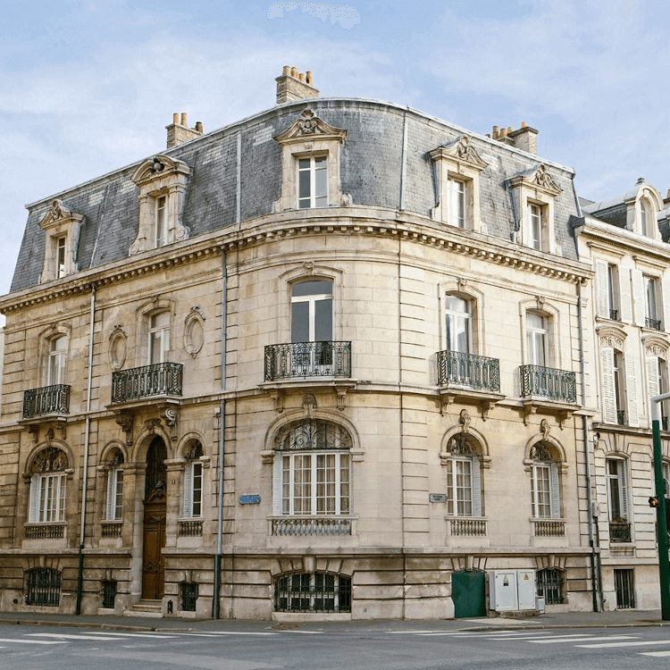 The house of Champagne Rothschild in Reims