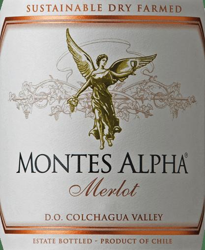 Montes Alpha Merlot 2017 - Montes von Montes Chile