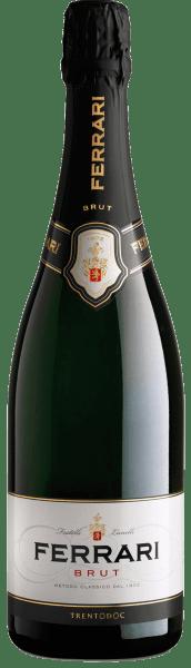 Sinds 1902 wordt deze mousserende wijn gevinifieerd in de regio van Trentino ensymboliseert de geschiedenis van het Ferrari wijnhuis. De Ferrari Brut van Ferrari presenteert zich in een strogele kleur met groenige tinten in het glas. Het bouquet van deze spumante is intens en ademt aroma's van gist, veldbloemen en Golden Delicious appels. In de mond biedt hij harmonie, zachtheid, helderheid en tonen van vers brood en rijp fruit. Deze Spumante wordt geleverd in een edele geschenkverpakking. Awardsvoor deFerrari Brut Trentodoc van Ferrariwinereview online: 90 puntenWine Spectator: 90 pts & slimme koop voorWine Enthusiast: 90 ptsGambero Rosso: 2 glazen elk in de Gamb. Rosso 2010 - 2014Bibenda: 4 druiven