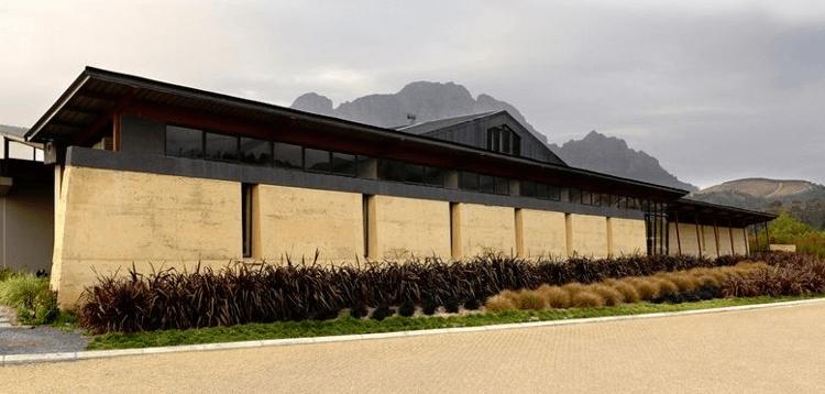 The Neil Ellis Winery in Stellenbosch