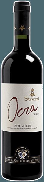 Deze Cuveé is afkomstig van de wijngaarden in Bolgheri, die eigendom zijn van Prins Girolamo Guicciardini. De Ocra Bolgheri DOC van Strozzi overtuigt met zijn warme en fijne smaak en zijn heerlijk fruitige bouquet. De Ocra Bolgheri van Strozzi harmonieert uitstekend met rood vlees en middellang gerijpte harde kazen.