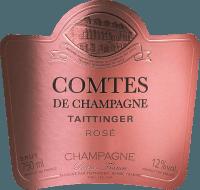 Preview: Comtes de Champagne Rosé 2007 - Champagne Taittinger