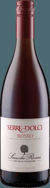 DeRosso Serre Dolci Cuvée vanSartirano en andere aromatische rode druivensoorten presenteert zich in een helder robijnrood in het glas. De zachte en fijne rode wijn uit Piemonte verwent met de aroma's van sappige rode bessen, die worden onderstreept door verse druiven en een vleugje vanille en kaneel. Aanbevolen voedsel voor deRosso Serre Dolci Geniet van deze lichte wijndrank als aperitief, bij desserts, fruitsalade en ijs.