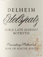 Voorvertoning: Edelspatz Noble Late Harvest 0,375 l 2019 - Delheim
