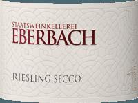 Voorvertoning: Riesling Secco - Eberbach