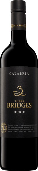Three Bridges Durif 2017 - Calabria Family Wines