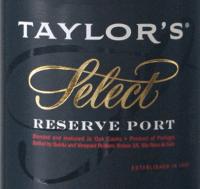 Voorvertoning: Ruby Select Reserve 0,375 l - Taylor's Port