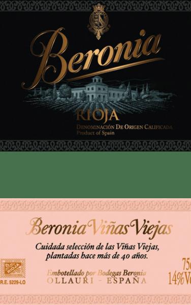 """Uit het beroemde Spaanse teeltgebied Rioja komt deze druivensoort puurVinas Viejas Rioja of Beronia. In een diepe donkere pruim kleur met een zwarte kern, glinstert deze wijn in het glas. Het expressieve bouquet wordt bepaald door aroma's van rijpe pruimen, sappige morellen kersen en bramen. De aroma's in de neus worden ondersteund door gebrande koffie, zoethout en wat specerijen. Het donkere fruit komt ook duidelijk naar voren in de volle smaak. De sappige, vlezige textuur harmonieert perfect met de heerlijke frisheid en evenwichtige structuur. De langdurige afdronk gaat vergezeld van een vleugje munt. Vinificatie van de Beronia Reserva Mazuelo De Tempranillo druiven voor deze Spaanse rode wijn zijn afkomstig van meer dan 50 jaar oude wijnstokken. Zodra de druiven in de wijnmakerij aankomen, worden ze eerst een paar dagen koud gekneusd. Na de koude maceratie vindt de alcoholische gisting plaats bij een gecontroleerde temperatuur van 26 graden Celsius in roestvrijstalen tanks. Tijdens dit proces wordt het beslag regelmatig overgepompt. Zo wordt zuurstof aan het beslag toegevoerd, waardoor de tannines worden gekalmeerd en ook de kleurpigmenten, alsmede de heerlijke verscheidenheid aan aroma's zich perfect kunnen ontwikkelen. De malolactische gisting van deze wijn vindt plaats in Franse eiken vaten. Dit draagt er ook toe bij dat deze wijn zijn diepe donkere kleur en de typische aroma's krijgt. In totaal rijpt deze Spaanse wijn 7 maanden in """"gemengde"""" vaten - deze vaten zijn speciaal voor Bodegas Beronia gemaakt en bestaan uit zowel Amerikaans als Frans eikenhout. Tenslotte rust deze rode wijn na botteling nog 6 maanden op de fles. Spijs aanbeveling voor de Rioja Mazuelo Reserva van Beronia Deze droge rode wijn uit Spanje is de ideale begeleider van gezellige barbecue-avonden met vers gegrild vlees, kruidige taarten of Spaanse worst- en hamspecialiteiten."""