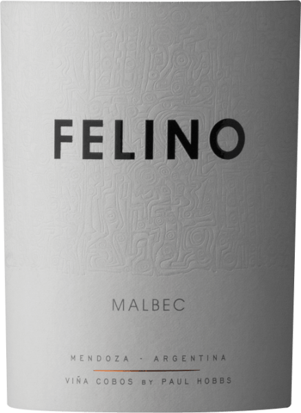 The Felino Malbec by Viña Cobos from Mendoza, Argentina, presents itself in a strong purple red colour with slightly violet and bluish nuances. The bouquet has white flowers and red fruit notes, with hints of white pepper and cloves. Taste notes of chocolate and liquorice surround the palate, in the mouth it gives itself full-bodied, softly with well integrated tannins. A well-balanced, elegant wine that fades away in a long, soft finish. Serving recommendations and tasting tips for Felino Malbec We recommend this fruity and spicy red Argentinean with grilled or roasted beef, lamb, goat or small game. Cultivation and vinification of the Cobos Felino Malbec Felino Malbec is made from 100% Malbec grapes grown in the vineyards of Luján de Cuyo, Maipù and Valle de Uco, at an altitude of 700 to 1200 metres above sea level. The climate in this region is dry with little rainfall. The vintage year 2014-2105 was, however, a somewhat more difficult year, with more rain and higher humidity than usual, so that the harvest had to be started almost a month earlier than usual. Malbec grapes were harvested between mid-March and mid-April. The fermentation was carried out on selected yeasts in stainless steel tanks, which hold between 8 and 17 tons, followed by bottling in February 2016 without clarification and unfiltered. The wines of the 2015 harvest are more terroir than usual. They show elegance, medium-bodied body, fineness and low alcohol content, but at the same time lively, very accentuated fruit notes, aromatic fullness and balanced acidity. The Felino line from Viña Cobos The special characteristic of the wines of the Felino line is their freshness and emphasized fruitiness. The grapes used come from different vineyards in the Mendoza region and each area emphasizes the richness and typical character of its grape variety. The range consists of Malbec, Cabernet Sauvignon, Merlot and Chardonnay, wines of remarkable intensity and brilliance, supported by lively acidity and balanced and soft tannins. They are the result of patient and tedious work and studies carried out by winemaker Paul Hobbs, owner of Viña Cobos, on the terroir and the development of other suitable vineyards and vineyards in the Luján de Cuyo and Valle de Uco regions.