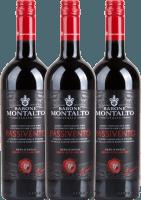 3er Vorteils-Weinpaket Passivento Rosso Terre Siciliane 2019 - Barone Montalto