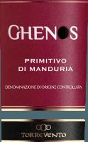 Voorvertoning: Ghenos Primitivo di Manduria DOC 2017 - Torrevento