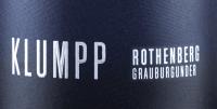 Voorvertoning: Rothenberg Grauburgunder trocken 2018 - Klumpp