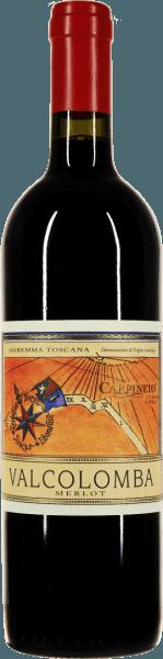 De Valcolomba Merlot van Carpineto wordt geproduceerd in de Maremma, de beroemde mediterrane kuststrook van Toscane. Pure vreugde brengt deze single-varietal Merlot in het glas, waarin de rode wijn intens robijnrood schittert. Het bouquet is verrukkelijk met wijnachtige, sappige aroma's van rijpe kersen, bramen en ander donker bessenfruit.  In de mond is de Carpineto Valcolomba Merlot heerlijk zacht, rond en elegant gestructureerd. Een kleine Supertuscan, die een zeer goed figuur slaat, zowel puur als in gezelschap van pittige gerechten. In de finale is deze Maremma Merlot verrukkelijk met zachte tannines en een goed gestructureerde fruitzuurgraad.  Hoe wordt de Valcolomba Merlot uit Carpineto gevinifieerd?  De Merlot druiven worden gekneusd en gedurende 15 dagen gemacereerd. De gisting vindt vervolgens plaats bij 28°C, met regelmatige circulatie van de druivendraf en beluchting van de wijn. Na de biologische zuurtransformatie van de Valcolomba Merlot, wordt de wijn overgebracht naar betonnen tanks waar hij kan harmoniseren tot de botteling.  Wat te eten bij Valcolomba Merlot?  Deze Merlot uit de Maremma is de perfecte begeleider van gegrild varkensvlees of gevogelte, pizza's met kruidige sauzen en salami of gebraad.