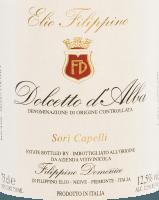 Voorvertoning: Sori Capelli Dolcetto d'Alba DOC 2019 - Elio Filippino