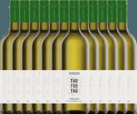 12er Vorteils-Weinpaket - Tag für Tag Scheurebe halbtrocken 1,0 l 2019 - Frankhof Weinkontor
