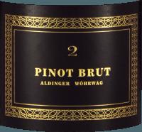 Voorvertoning: Pinot Brut 2 Sekt - Aldinger - Wöhrwag