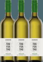 3er Vorteils-Weinpaket - Tag für Tag Scheurebe halbtrocken 1,0 l 2019 - Frankhof Weinkontor