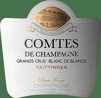 De Comtes de Champagne Blanc de Blancs van Champagne Taittinger is een eersteklas, expressieve mousserende wijn, die uitsluitend wordt gevinifieerd van het druivenras Chardonnay. In het glas maakt deze champagne indruk met zijn schitterende lichtgouden kleur met heldergroene en bijna fluorescerende reflecties. Fijne parelsnoeren stijgen onophoudelijk op. Deze champagne heeft een uitgesproken fris bouquet. Geurige aroma's van witte bloesem gaan hand in hand met minerale hints en sappige peren en sultana's - onderstreept door een discrete hint van anijs. Expressief en met een enorme kracht, presenteert deze mousserende wijn zich aan het gehemelte. Naast levendig citrusfruit proef je fijne, licht getoaste aroma's van gekarameliseerde grapefruit en ziltig-minerale tonen. De lange afdronk wordt bekroond door een mooie rijkdom en frisse zuren. Comtes de Champagne Blanc de Blancs is de perfecte combinatie van finesse, intensiteit, frisheid en harmonie. Gewoon een uitstekende Champagne voor heerlijk unieke momenten. Vinificatie van de Blanc de Blancs Comtes de Champagne Alleen streng geselecteerde Chardonnay-druiven van devijf Grand Cru locaties van de Côte des Blancs worden gebruikt voor deze magnifieke mousserende wijn. De oogst wordt uitsluitend met de hand gedaan en de druiven worden voorzichtig in hun geheel geperst terwijl ze nog in de wijngaarden liggen. Alleen de fijne most na de eerste persing wordt gebruikt voor deze champagne. De mosten worden snel vergist in roestvrijstalen tanks. Ongeveer 5% van deze wijn rijpt gedurende 4 maanden in nieuwe eiken vaten. Daarna worden de gerijpte en ongerijpte wijnen samengevoegd tot een cuvée basiswijn. Na toevoeging van de vullingsdosering (gist en suiker) wordt de basiswijn gebotteld en in de diepe krijttunnels van Taittinger geplaatst om ten minste te rijpen. Door regelmatig met de hand te schudden en te draaien, verzamelt de gist die zich aanvankelijk op de bodem bevond, zich geleidelijk in de hals van de fles. Uiteindelijk