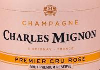 Voorvertoning: Brut Rosé Premium Réserve Champagne AOC - Charles Mignon