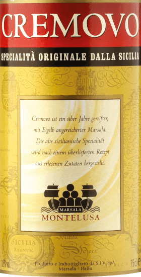 De Cremovo Vino Aromatizzato Marsala Fine DOC uit Baglio Curatolo Arini op Sicilië presenteert zich romig-zacht en met kruidig-milde smaken als ideale dessertwijn of solo na een slijpbeurt. Productie van de Cremovo Vino Aromatizzato Marsala Fine van Baglio Curatolo Arini Marsala Fine wordt gemaakt van Inzolia, Grillo en Cataratto druiven, de gisting wordt gestopt en versterkt met alcohol en rijpt gedurende 1 jaar in houten vaten. Om er een Cremovo van te maken, worden eigeel en suiker toegevoegd aan Marsala Fine. Hierdoor wordt de likeurwijn dikker en donkerder. Aanbeveling voor de Cremovo Geniet van deze Siciliaanse klassieker bij het dessert of als smakelijk aperitief.