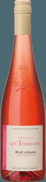 Rosé d'Anjou Les Terriades AOC 2020 - Les Caves de la Loire