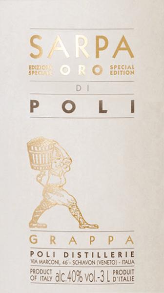 Sarpa Oro di Poli Grappa 3,0 l Big Mama in GP - Jacopo Poli von Jacopo Poli