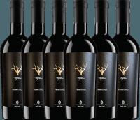 6er Vorteils-Weinpaket - Trefilari Primitivo 2018 - Cantina Sampietrana