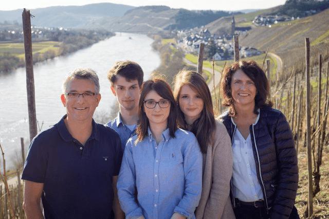 The Haag family from the Weingut Schloss Lieser