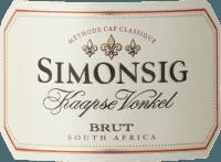 Voorvertoning: Kaapse Vonkel Brut Methode Cap Classique 2018 - Simonsig