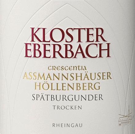 Assmannshäuser Höllenberg Spätburgunder Crescentia 2016 - Kloster Eberbach von Weingut Kloster Eberbach