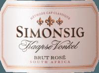 Voorvertoning: Kaapse Vonkel Brut Rosé Methode Cap Classique 2018 - Simonsig